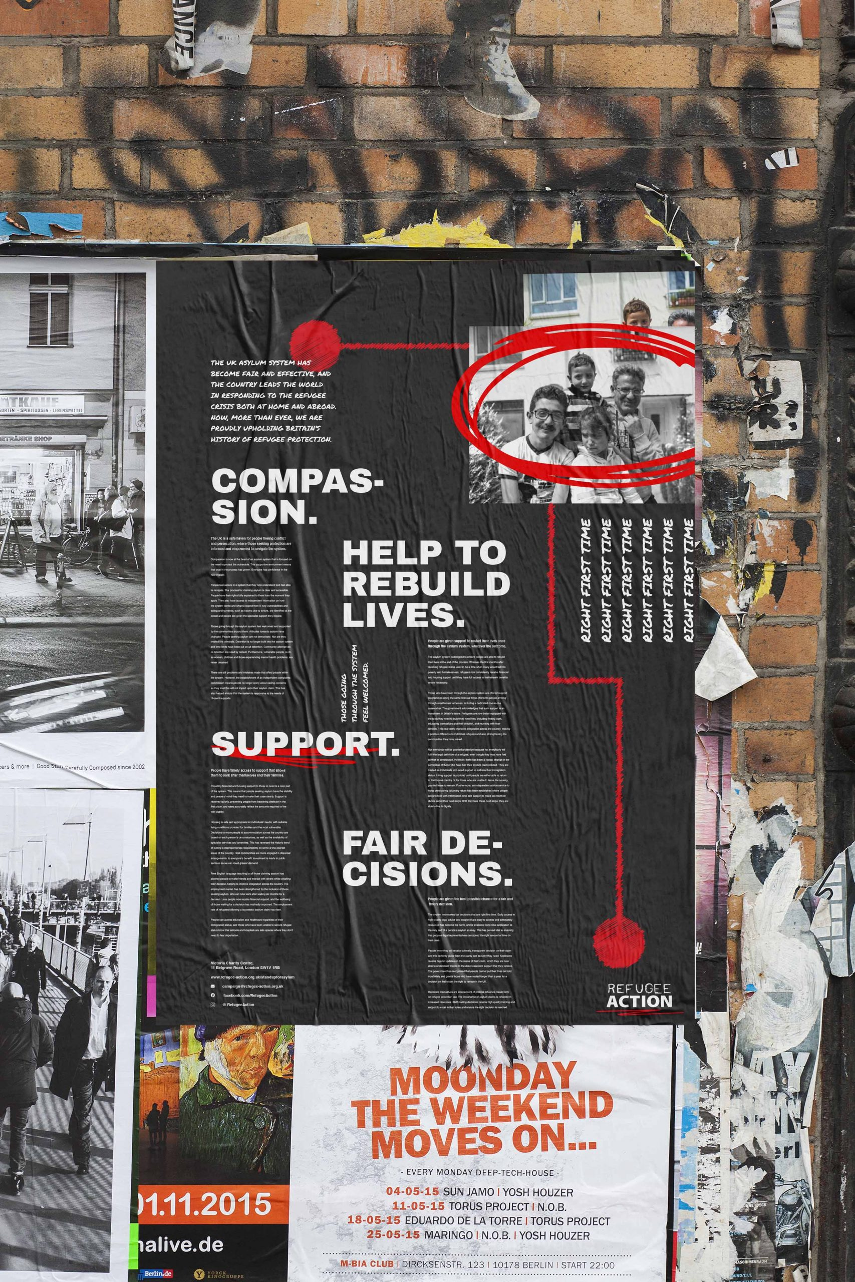 Refugee Action Poster