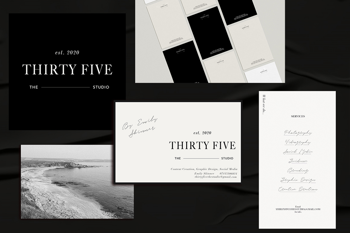 Branding for Thirty Five The Studio