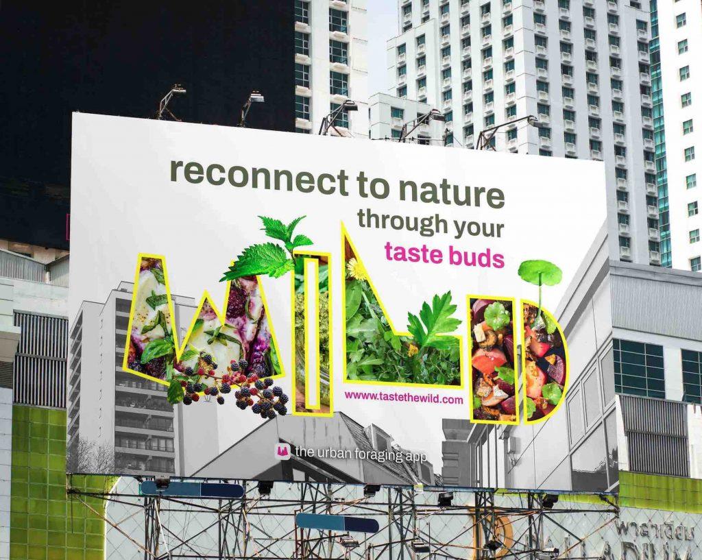 WILD - Urban Foraging Awareness Campaign