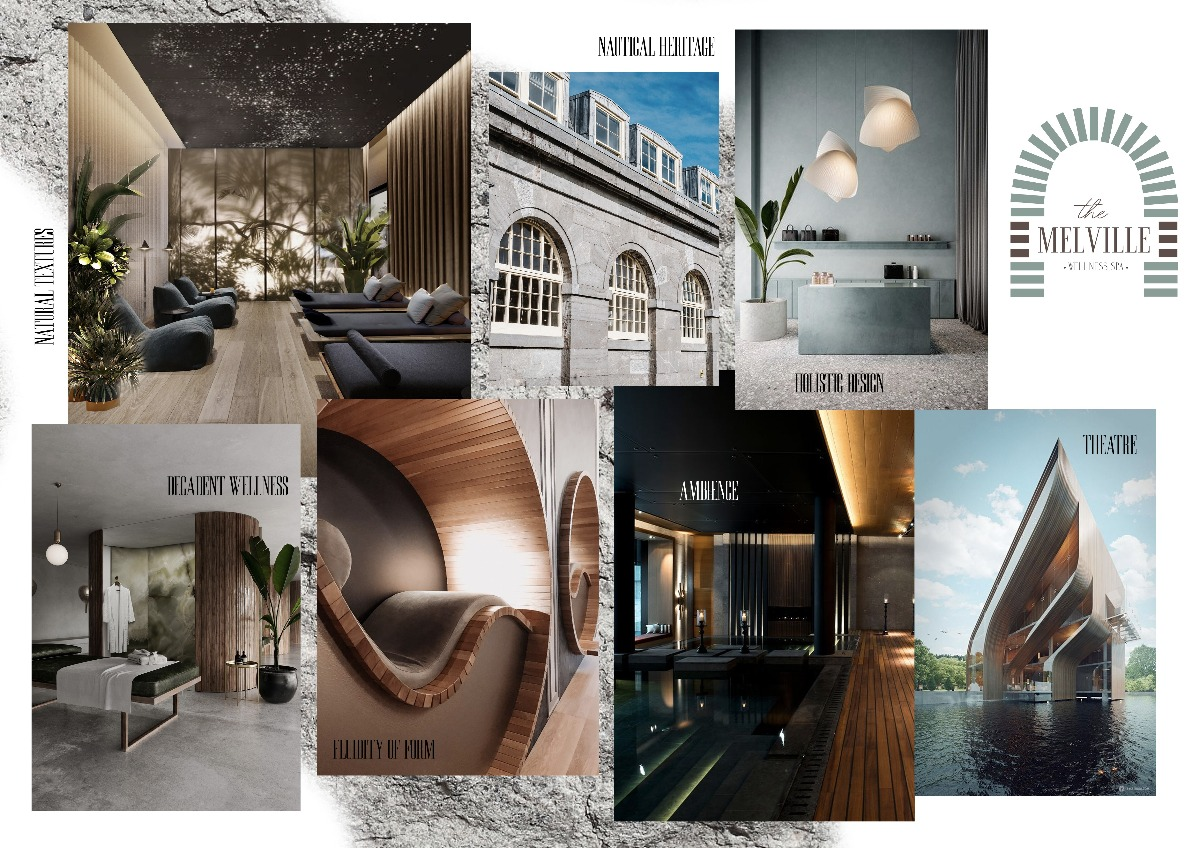 CONCEPT BOARD The Melville: Wellness Spa