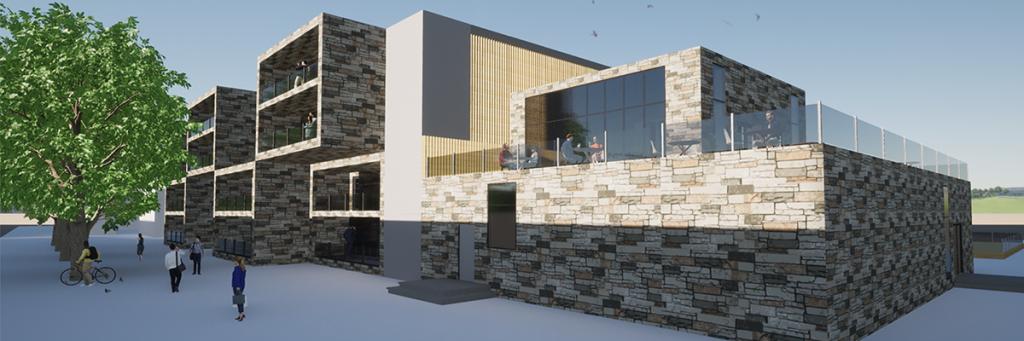 Modular Community, Prefabricated Modular Housing and Day Bar