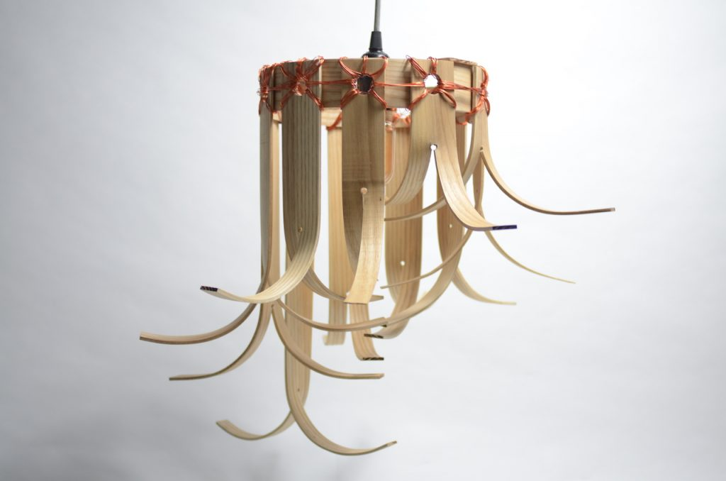 Split Lampshade