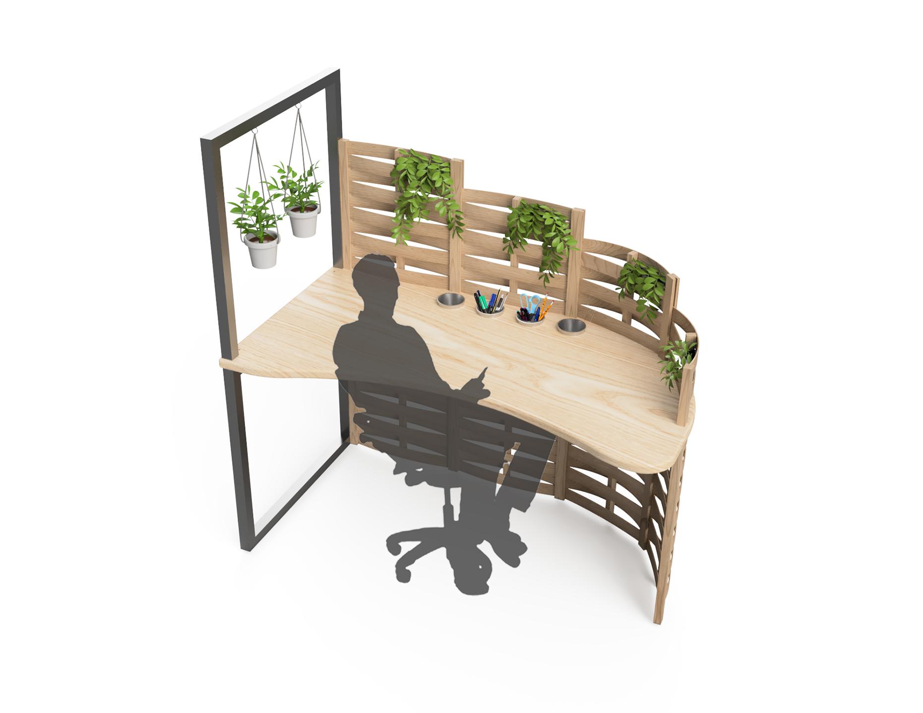 Office Garden Desk