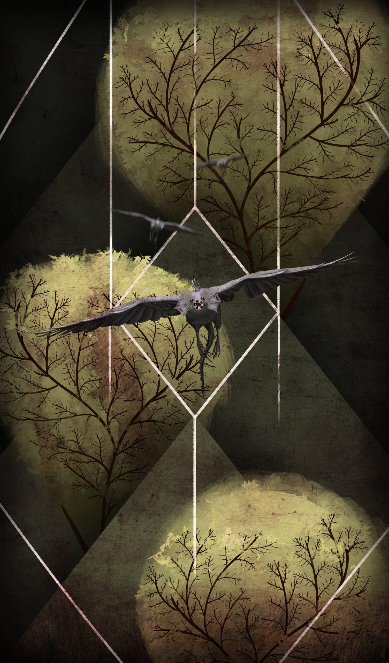 Demibird - Creature Illustration