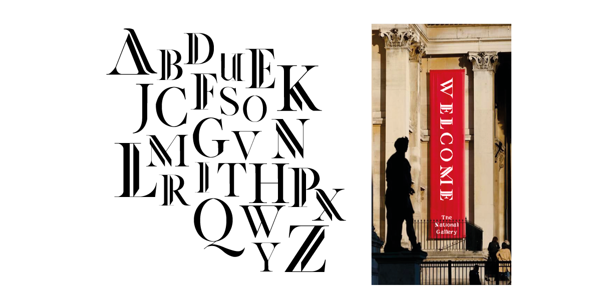 The National Gallery Typeface