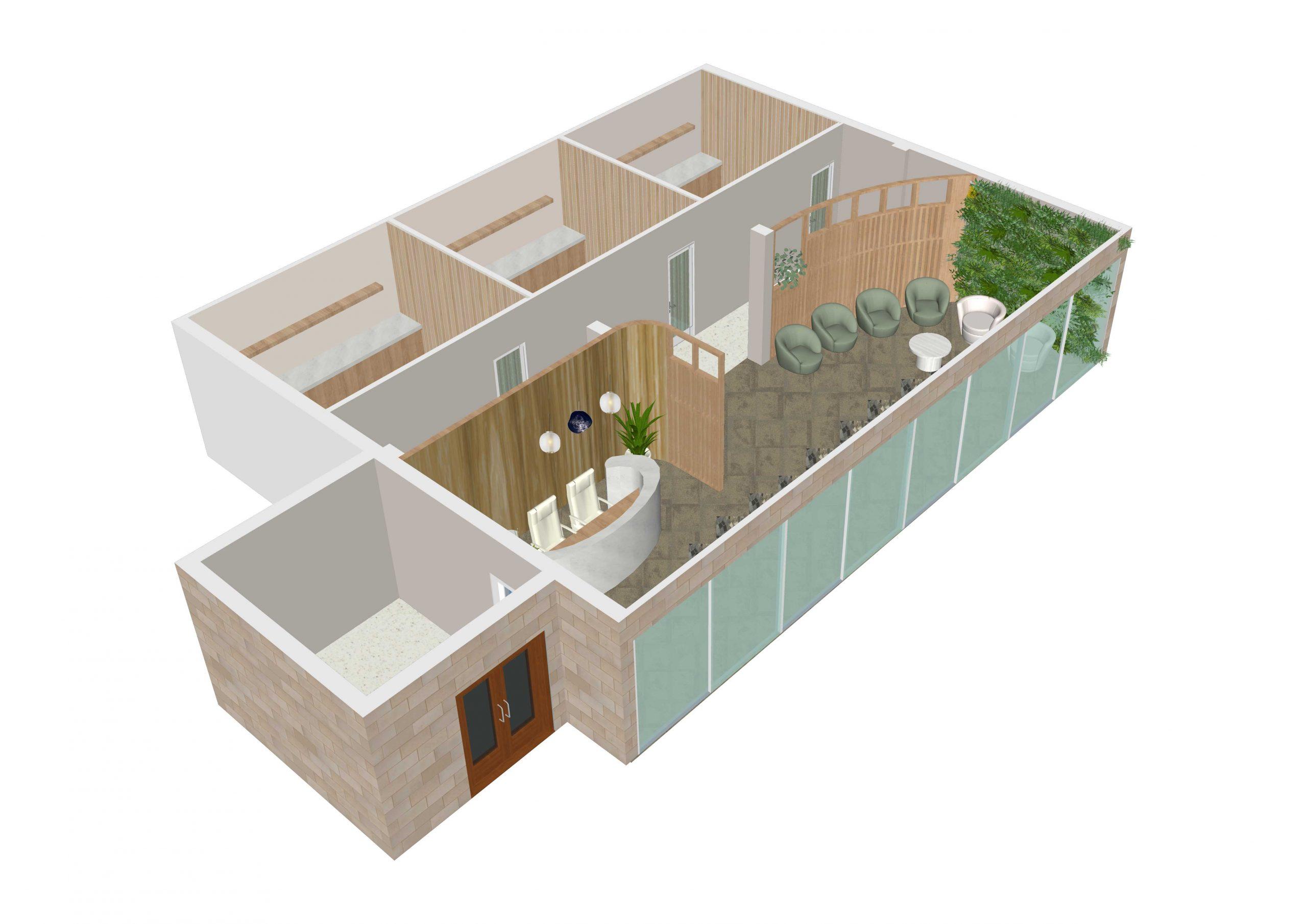 Serenity Spa Floor Plan