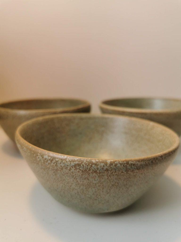 wheel thrown bowls
