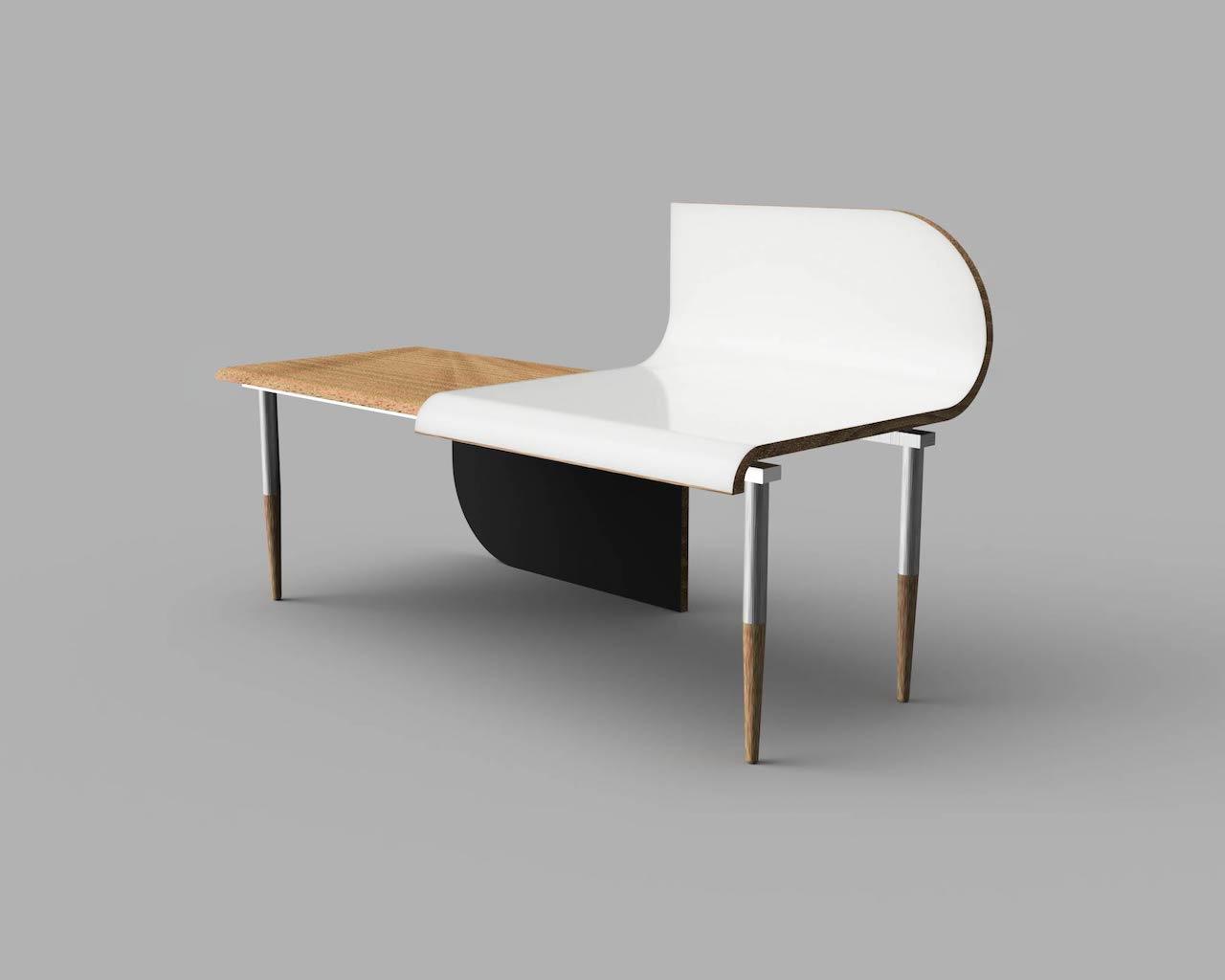 Yin Yang desk