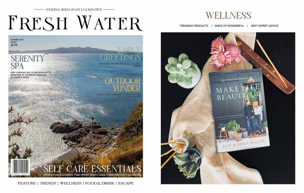 Fresh Water Magazine Front Cover: Summer 2021 Issue