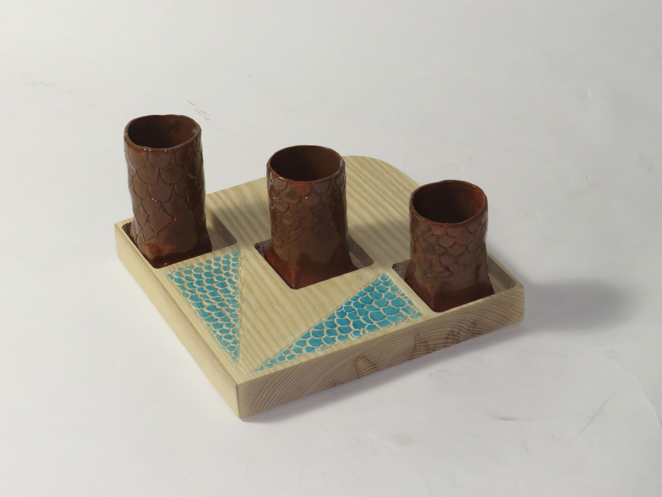 Step, Scale & Vase