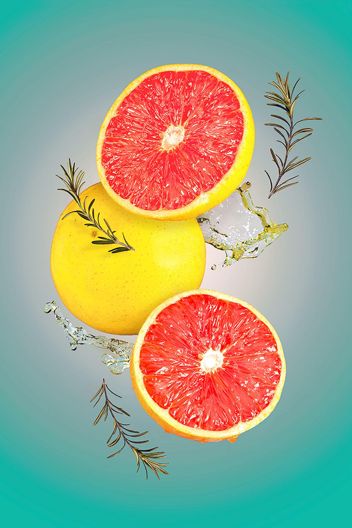 Grapefruit and Rosemary