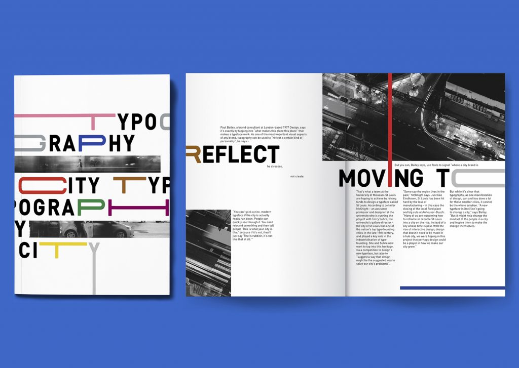 City Typography Editorial