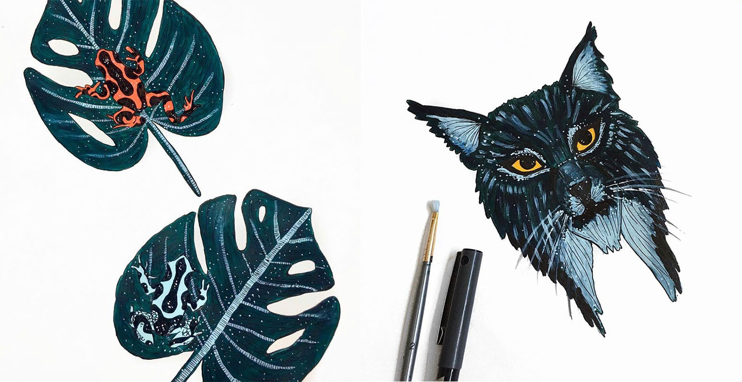 Endangered Animals - Paintings