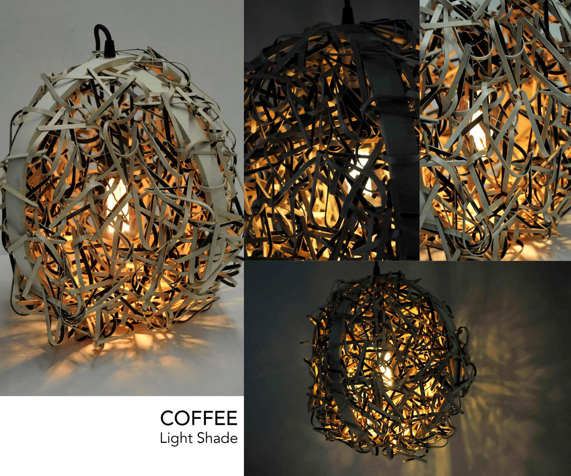 Coffee Light - Hanging Light Installation