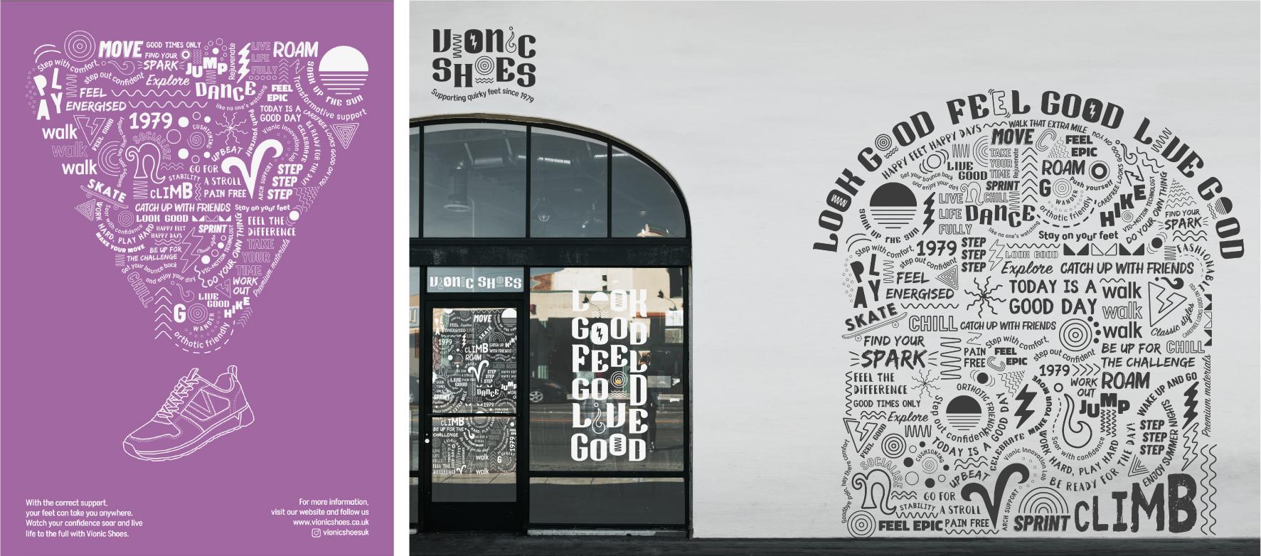 Vionic Shoes Rebrand