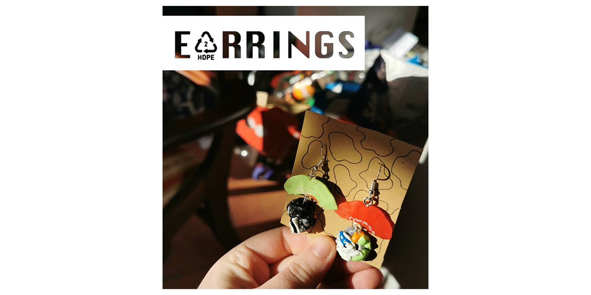 HDPE Earrings