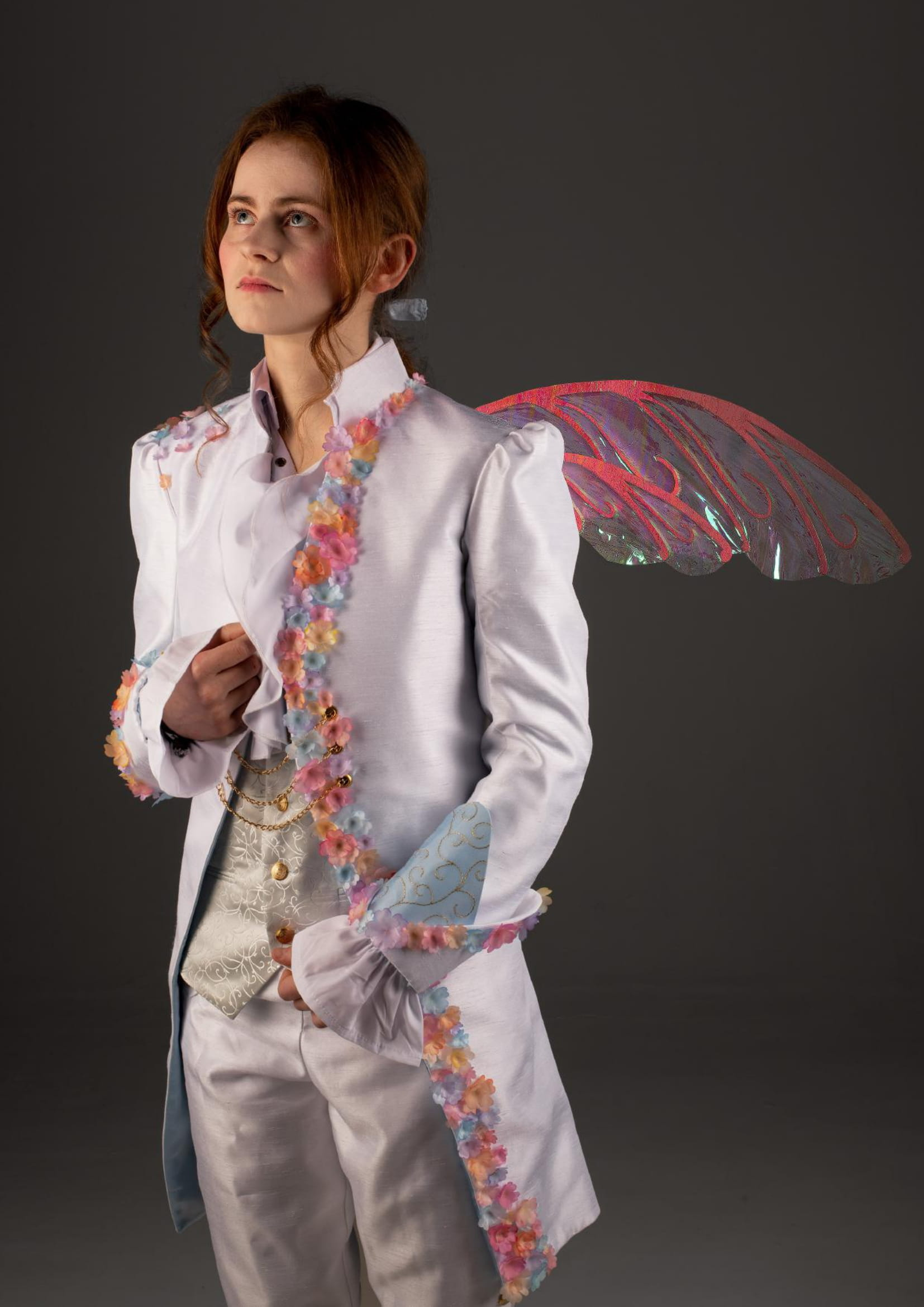 Costume for the character of 'Fae Contes' for the 'Carnival of Curiousities'