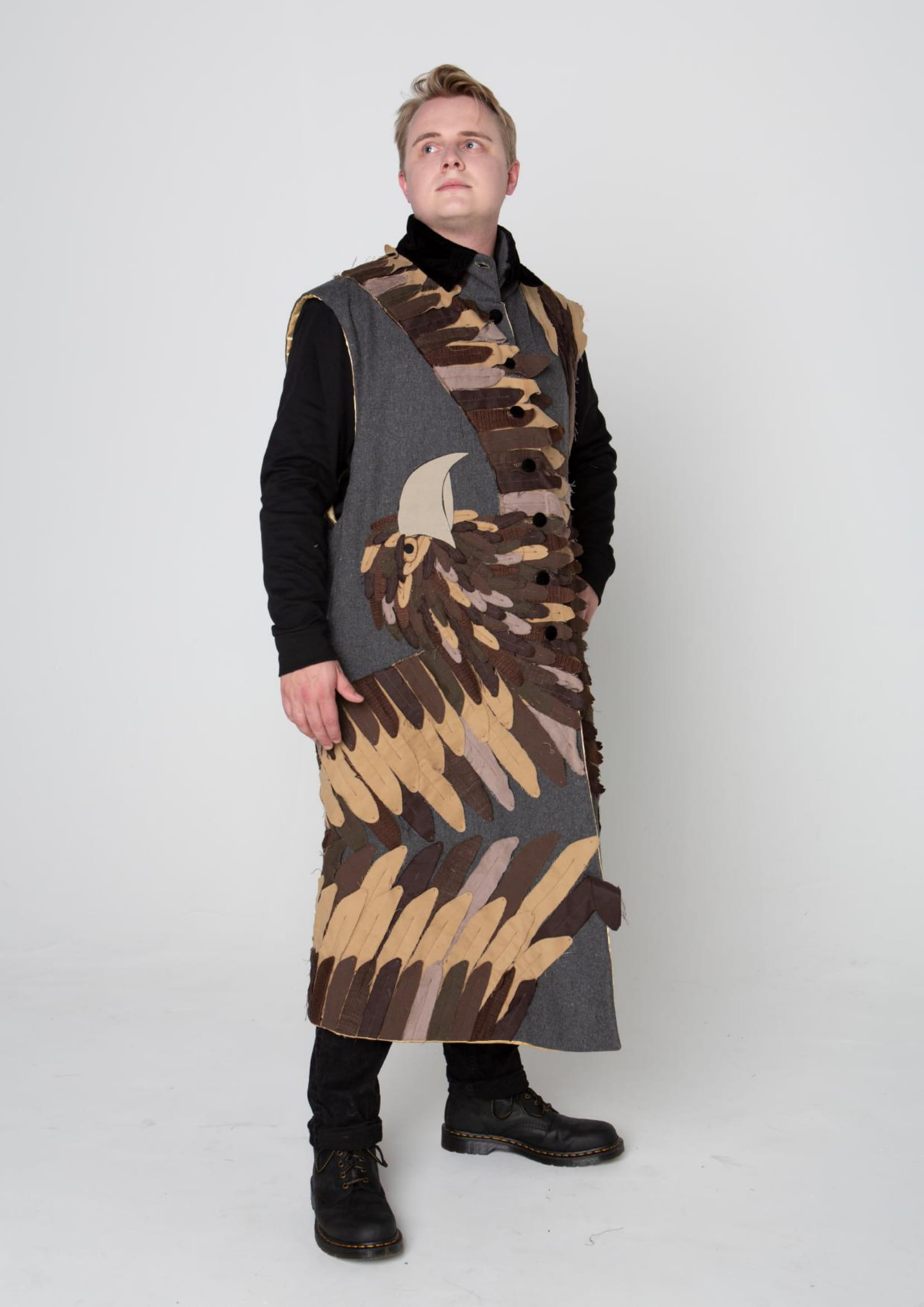 Costume for the character of 'King Duncan' for the production of 'Macbeth' by the Actors Wheel