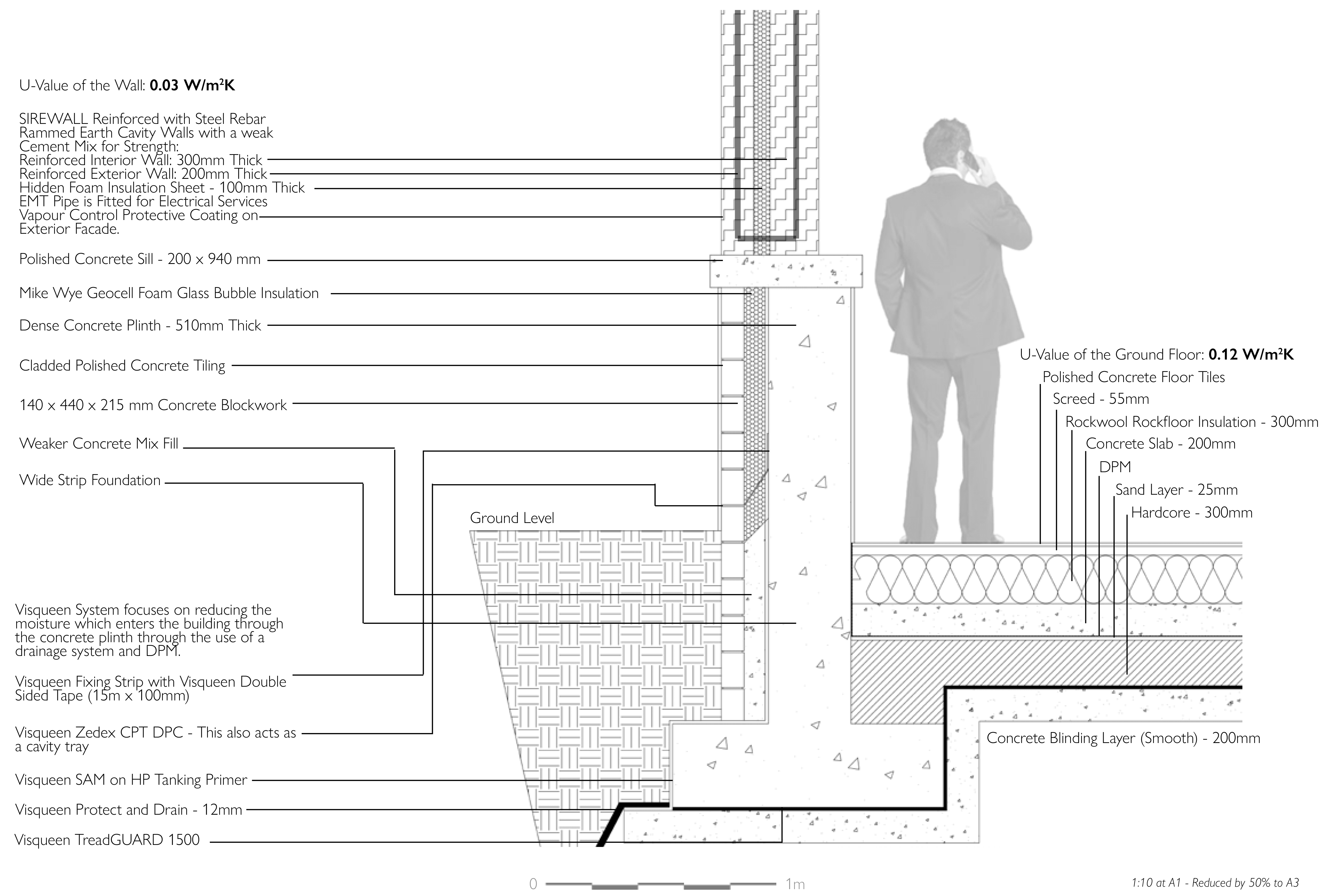 An Upskilling Expansion - A Ground Floor to Wall Detail